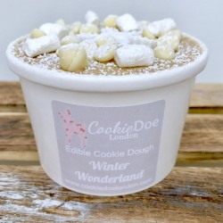 Winter Wonderland Edible Cookie Dough Tub