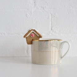 Mini Gingerbread House (Mug Hanger)
