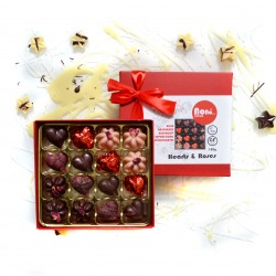 Nono Cocoa - Hearts & Roses - Raw Superfood Chocolate Box