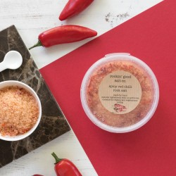 Rock Salt infused with Spicy Red Chilli - Pinch Pot
