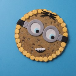 Minion Giant Chocolate Chip Cookie