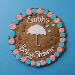 Baby Shower Giant Chocolate Chip Cookie Card