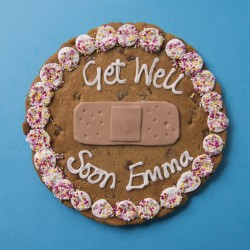 Get Well Soon Plaster Giant Chocolate Chip Cookie