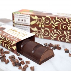 3 Raw Chocolate Bars with Chocolate Cream Centre