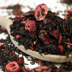 Cranberry Raspberry Black Tea - Premium Loose Leaf Black Tea (100g)