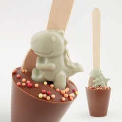 3 Dinosuar Cocoa Cuppas (Choice of Chocolate)