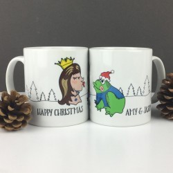 Personalised Christmas Fairytale Mug