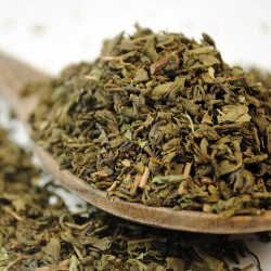 Minty Fresh Gunpowder Green Tea - Peppermint Green Tea (100g)
