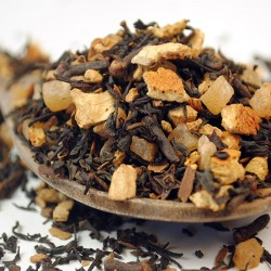Masala Chai (Orange and Cream) - Ayurvedic Black Tea (100g)
