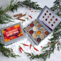 Christmas Message Personalised Indian Spice Collection