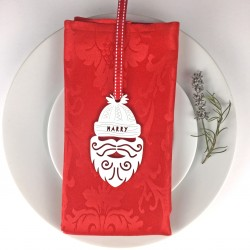 Personalised Santa Christmas Place Settings Set of 4