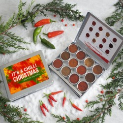 Christmas Message Personalised Rare Chilli Powder Collection