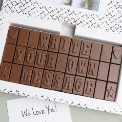 Personalised Chocolate Gift - 3 Rows