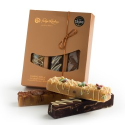Trio of Sharing Bars Gift Box - Gourmet Fudge Selection