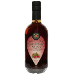 Cherry Palinka with Honey Liqueur