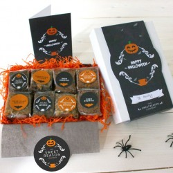 Luxury Halloween Brownie Gift Box (Gluten Free)
