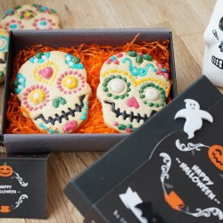 Halloween Luxury 'Day of the Dead' Biscuit Box