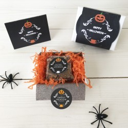 Mini Halloween Brownie Box