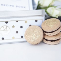 Chocolate Noir and Gold Dust Edition Macaron Making Kit