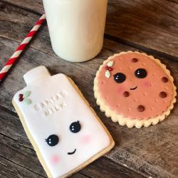 Santa's Milk And Cookies Christmas Eve Set