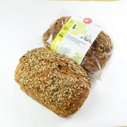 Onion and Seeds Loaves of Bread (Gluten free, Vegan, Soya free)