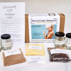 Pack a Punch Port Mustard Making Kit