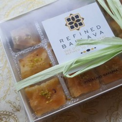 Traditional Baklava 12 Piece Box