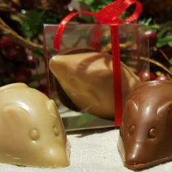 Chocolate Filled Praline Mice