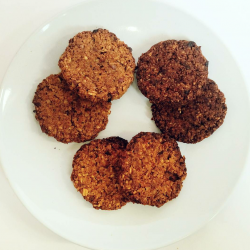 Cookies: Carrot & Walnut, Blueberry & Oat and Cacao & Orange (Refined Sugar Free)