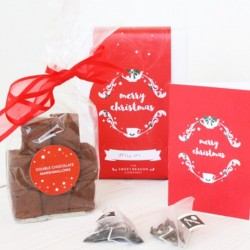 Christmas Double Chocolate Marshmallows Gift Box