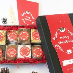 Christmas Luxury Brownie Gift Box