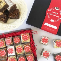 Indulgent Christmas Brownie Gift Box (Gluten Free)