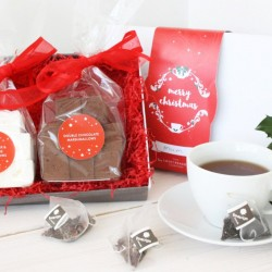 Christmas Marshmallows & Tea Gift Box