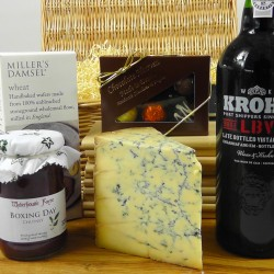 Christmas Port & Stilton Hamper with tasting notes