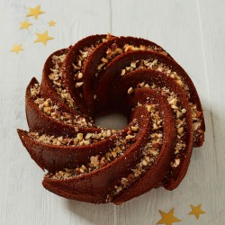Dark Gingerbread Spiced Bundt Cake (Gluten & Dairy Free)