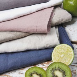 Pure Linen Napkins - Set of Four (Various Colour Choices Available)