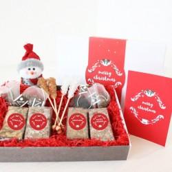 Christmas Brownies & Tea For Four