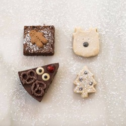 Christmas Chocolate & Shortbread Box