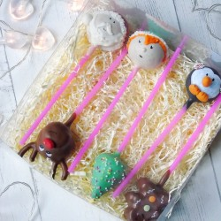 Christmas Cake Pop Set