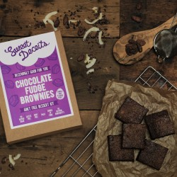 Natural & Wholesome Chocolate Fudge Brownie Kit