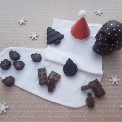 Christmas Stocking with Dark Chocolate Gifts