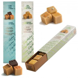 Gin and Sea Salted Caramel Great Taste Awarding Fudge Selection