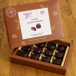 Organic Raw Chocolate Salted Caramel Box