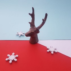 Gold Chocolate Reindeer