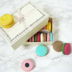 Macaron Pick and Mix Sweet Selection Box of 12