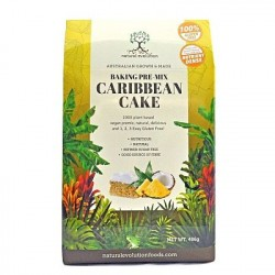 Caribbean Cake – Baking Pre-Mix (Gluten Free)