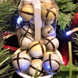 Chocolate Caramel Baubles