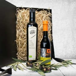 Organic Olive Oil and Balsamic Vinegar Gift Set