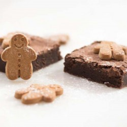 Christmas Gingerbread Brownie Box