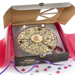 Unicorn Chocolate Pizza